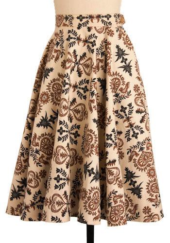 Vintage The Life Organic Skirt