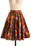 Vintage Sunset Watching Skirt
