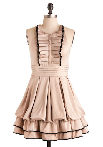 For the Frill of It Dress - Short