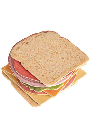 Welcome to the Club Sandwich Coasters - Multi
