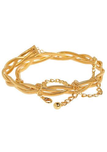Rapunzel Belt - Gold, Chain