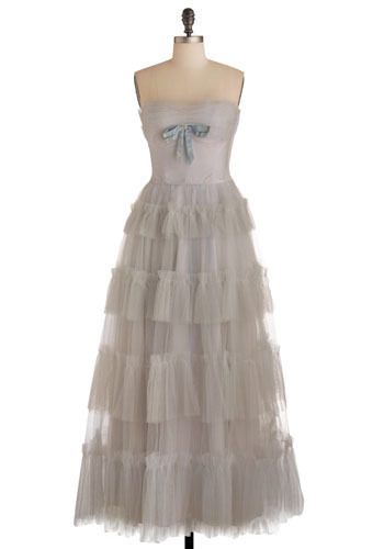 Vintage Wedding Bells Are Ringing Dress