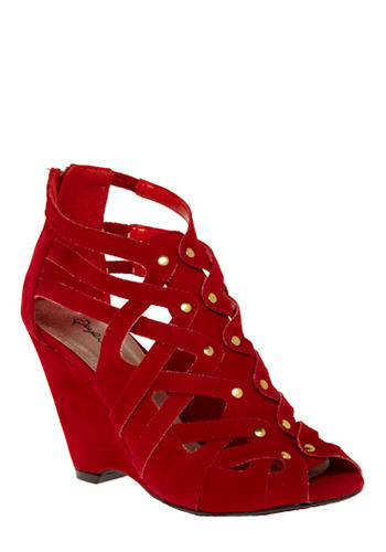 Red Carpet Roll Out Wedge