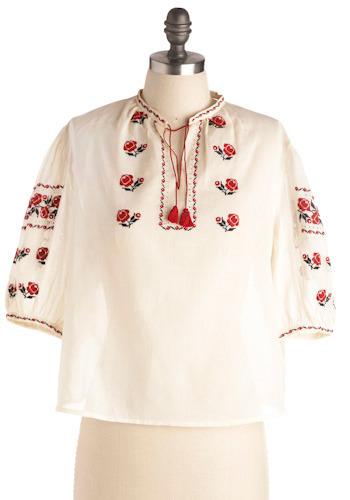 Vintage Tuxtepec Tunic