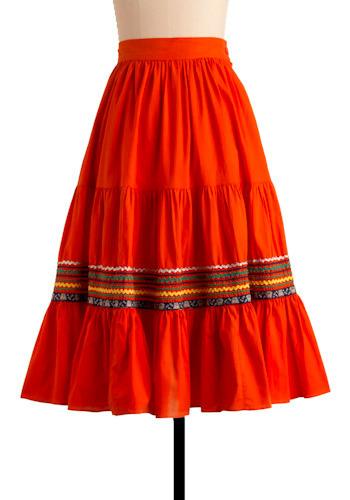 Vintage Boheme Skirt