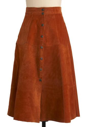 Vintage Nomadic Style Skirt