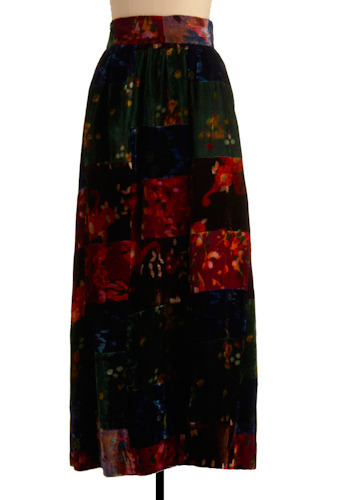 Vintage Madras Masterpiece Skirt