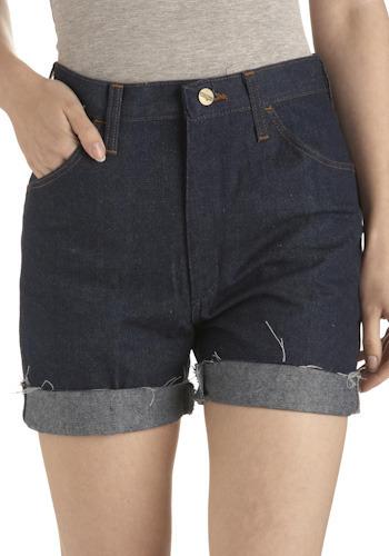Vintage Runnin' Blue Jean Shorts