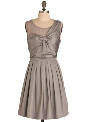 Silver Screen Goddess Dress by Ryu - Mid-length