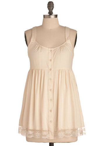Creme Puff Top - Long