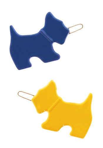 Clip Us Up, Scottie - Yellow, Blue