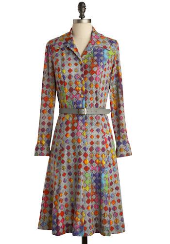 Vintage Fluorescence Dress