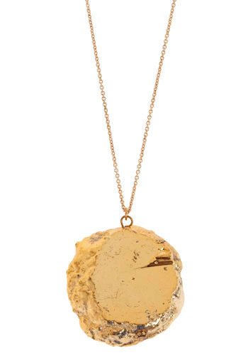 Ready Ore Not Necklace - Gold, Party, Work, Casual, Statement