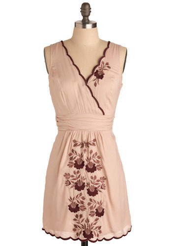 Blushing Begonia Dress - Short
