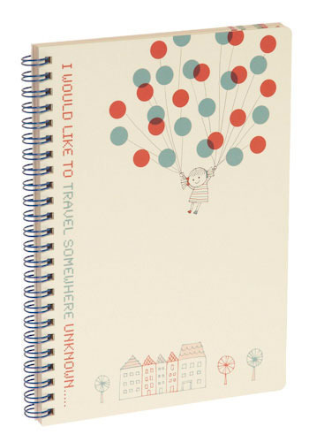 99 Cute Balloons Notebook by Shinzi Katoh