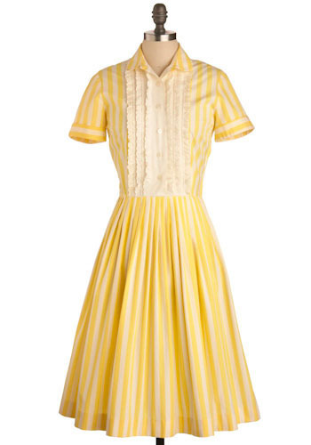 Vintage Lemonade Stand Dress