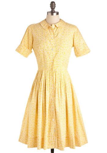 Vintage Afternoon Bus Dress