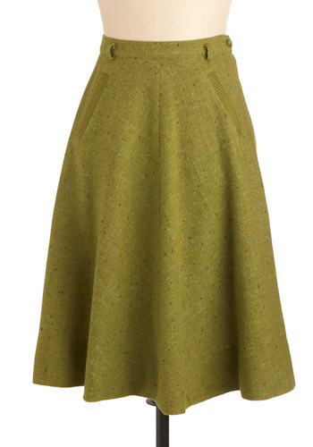 Vintage Meet Me in the Quad Skirt