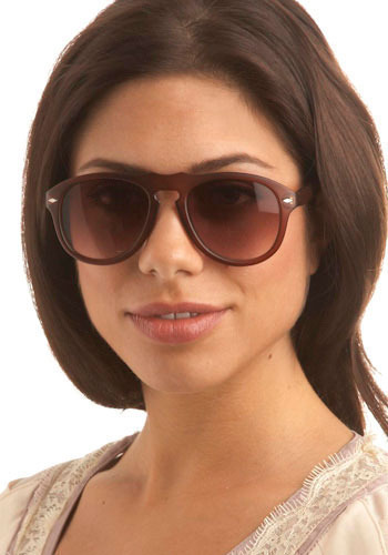 Matte About You Sunglasses - Brown, Casual, Urban, Spring, Summer, Fall