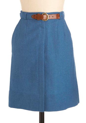 Vintage Style Sabbatical Skirt