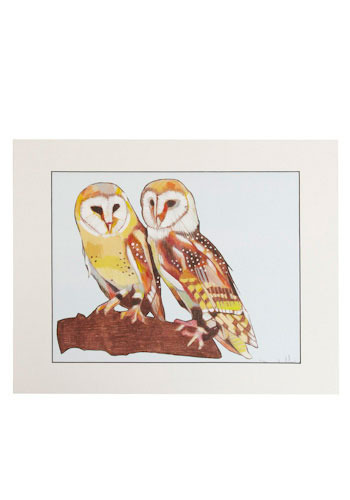 Owl Be Your Friend Print