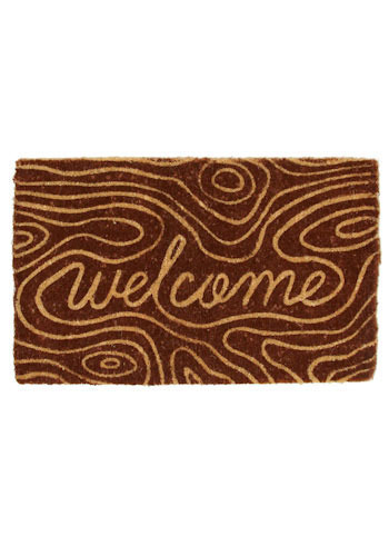 Visitors Log Doormat