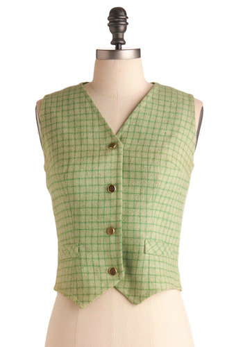Vintage Need for Tweed Vest