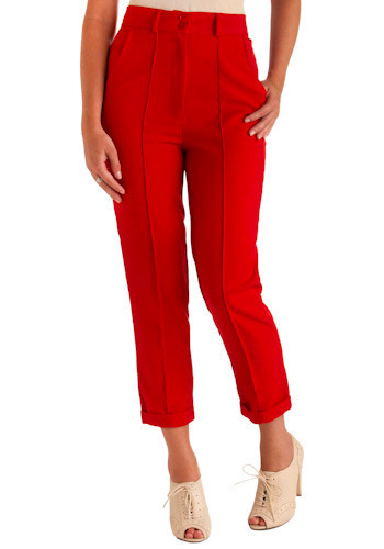 Car Cruise Pants - Mid-length