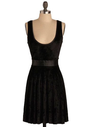 Velvet Wonderground Dress by Tulle Clothing - Short