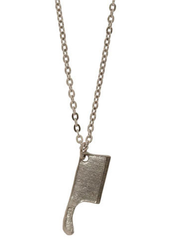 Leave It To Cleaver Necklace - Silver, Party, Work, Casual