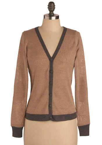 Haute Chocolate Cardigan - Mid-length