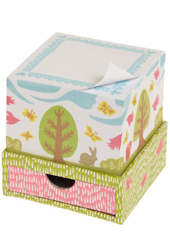 Animals Write Curious Proses Noteblock - Multi, Orange, Yellow, Green, Blue, Pink, Brown, Tan / Cream, White, Work, Casual