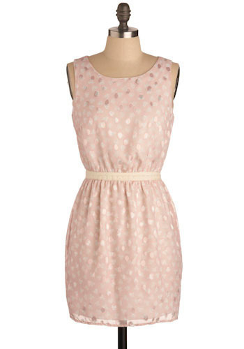 Pinking Of You Dress - Short