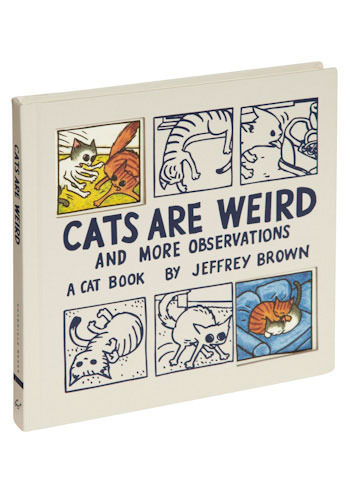 Cats Are Weird - Print with Animals, Cats