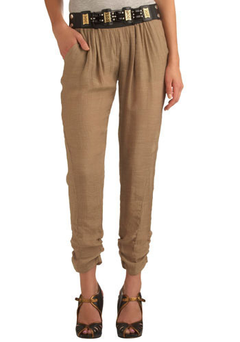 Tea in the Sahara Pants - Mid-length