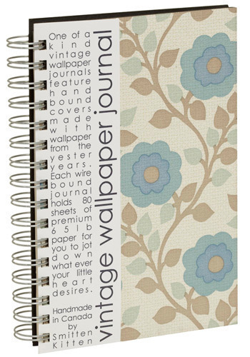 Between the Walls Notebook - Multi, Work, Casual, Vintage Inspired