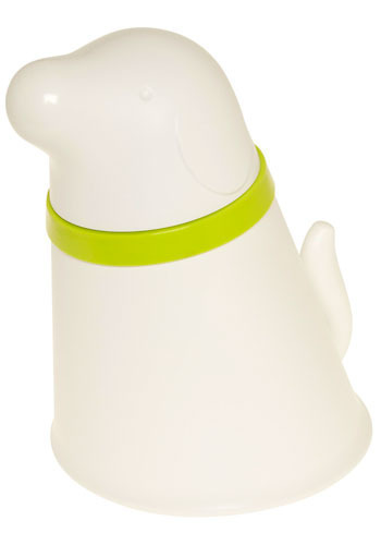 Woman's Best Friend Pet Feeder in Dog - White, Green