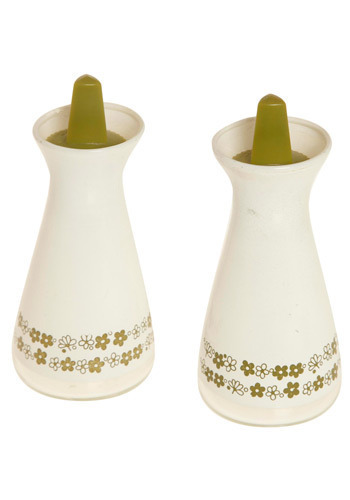Vintage Home Cooked Meal Salt and Pepper Shakers
