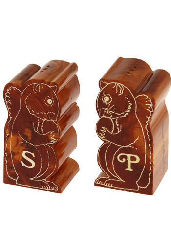 Vintage Nuttin' But Salt and Pepper Shakers