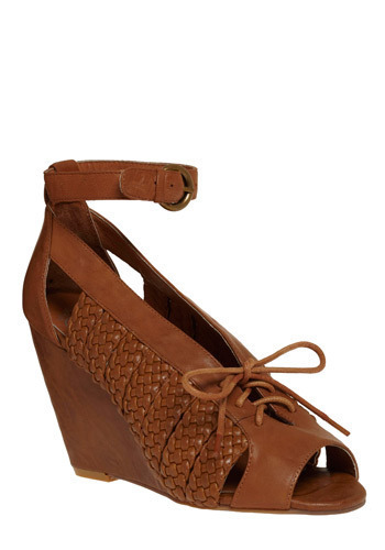 Livingstone Peep Toe Wedge by Jeffrey Campbell - Wedge