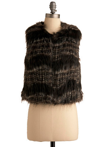 Fur the Thrill of It Vest - Short