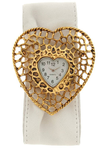 True Love Watch - White, Gold, Special Occasion, Prom, Wedding, Party, Work, Casual