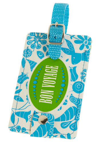 Trendy Travels Luggage Tag