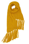 Knit Picky Scarf in Yellow by Tulle Clothing