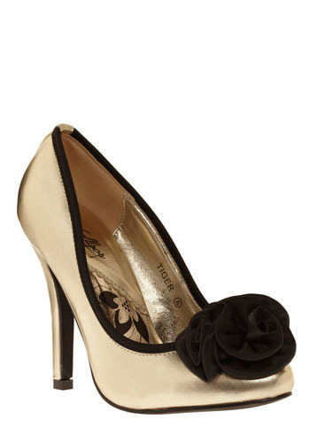 Gold and Brazen Heel