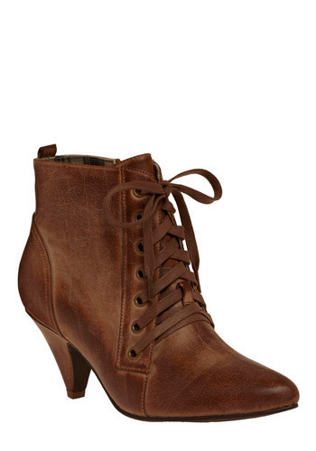 Check Out Those Moves Boot in Tan - Brown, Solid, Bows, Party, Work, Casual, Fall, Winter