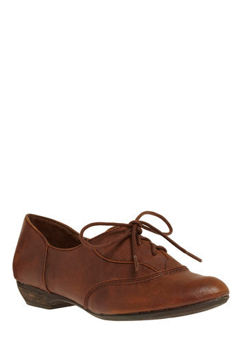 Doctorate Degree Flat - Brown, Solid, Work, Casual, Spring, Summer, Fall