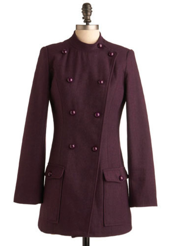 Sergeant Purple Coat - Long