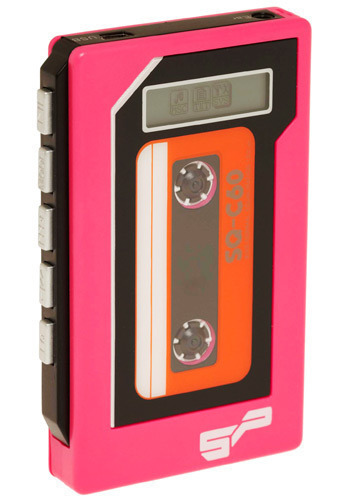 Old Time Rock 'n' Roll MP3 Player - Pink, Dorm Decor