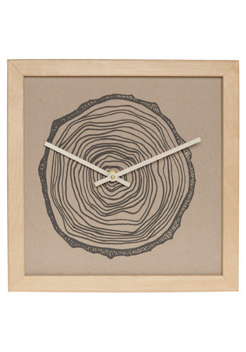 Urban Tree Clock in Stump